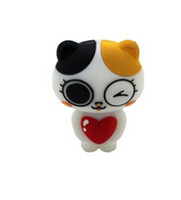 Wholesale 16gb Usb Drive Cute - 2015 new design Creative cute cat USB stick 16GB 32GB 64GB USB 2.0 Flash drive USB sticks pendrives