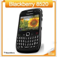 Wholesale Free Blackberry Accessories - Original 8520 Blackberry 8520 Unlocked Wifi Cell phone Free Shipping by Singapore Post Refurbished