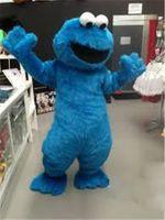 Wholesale Cheap Costumes Sesame Street - Halloween Costumes Sesame Street Blue Cookie Monster Mascot Costume Cheap Costumes Adult Character Costume Fancy Dress