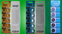 Wholesale Lr41 Batteries - LR41 LR44 1.5V mercury free button cell and CR2032 3V lithium coin cell 100% fresh
