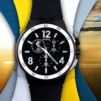 спортивные наручные часы оптовых-5 Цвет горячие продажи женщины Gril мужчина мальчик спорта на открытом воздухе силиконовые красочные желе гель часы Кварцевые электронные часы relogio feminino