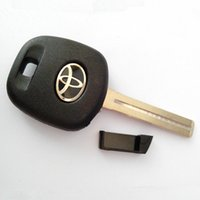 Wholesale Toyota Car Key Shell Price - Best price replacement car key case for toyota TOY48 transponder key blank shell with short blade free shipping
