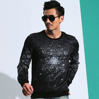 Wholesale Newest Style Mens Hoodies - Wholesale-2015 autumn newest design top fashion brand men's sportswear sweatshirts Men pullover hoodie Mens clothing European-style