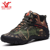 Hombres impermeables zapatos de senderismo para mujer Alta Top Trail Tactical Boots Trekking Deportes Zapato de montaña Forest Camouflage Outdoor Walking Sneakers