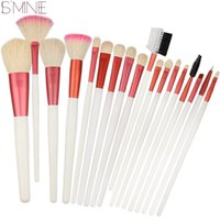Wholesale Hair Brush Cleaner Pink - Ismine Clean Stock Cheap Beauty Brushes 18pcs Professional Makeup Brush Set Competitive Price Fashion Style Cosmetics Brush +Pink Case