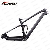 Wholesale Bike Frames Mountain Suspension - 27.5ER Full suspension carbon mountain frame,190*50 rear suspension carbon frame,142*12mm thru axle carbon mountain bike frame