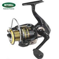 Wholesale Mitchell Saltwater Spinning Reels - 100% Original Mitchell Brand AVOCET GOLD IV 500   1000   2000   4000 FD Spinning Fishing Reel 7+1BB Fishing Wheel