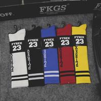 meias japonesas venda por atacado-Atacado-japonês Harajuku ayumi Pyrex visão esporte meias GD meias listradas skate 5 cores