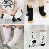 Wholesale Brand Cotton Socks For Kids - 2016 Spring Autumn New Design Baby Socks Cartoon Mouse Cotton Knee Length Socks For Kids 15085