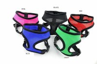 Wholesale High Quality Leather Dog Harness - Soft Air mesh Dog Harness Puppy Pet Harness high quality nylon mesh harness