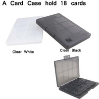 Wholesale Memory Card For Psv - Free Shipping 18 in 1 Game & Memory Card Holder Case Storage Cover Box for PS Vita PSV