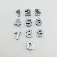 encantos de pulseiras venda por atacado-Atacado 50 Pçs / lote 10 MM Slide Números