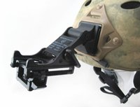 Wholesale tactical night vision - Tactical Fast MICH Helmet NVG mount for night vision monocular PSV-7 or PVS-14 Black