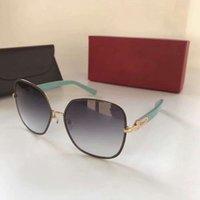 Wholesale Glass Eyes 16mm - Women Sunglasses SF 150S 150 S Gold Azure 59mm 16mm 135mm New Designer Brand Sunglasses New with Box