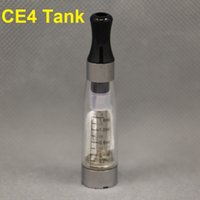 Wholesale Electric Cigarette Battery Ce4 - Free shipping! ego one atomizers ce4 vaporizer ce5 no wick atomzier tank clearomizer for electric cigarette ego battery
