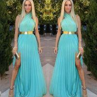Wholesale Cheap Sexy Clubwear Dresses - New Summer Dress 2016 Women Clothing Fashion Criss-Cross Maxi Casual Dress Women Solid Party Dresses Cheap Sexy Long Dress Clubwear