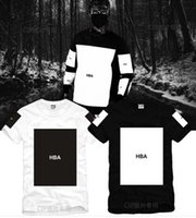 trilles tees achat en gros de-Taille S - 3XL 2017 t-shirt été Hood Par Air HBA Been Trill Kanye impression en blanc Hba tee hommes t-shirts 5 couleur 100% coton