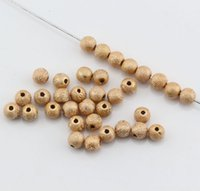"Wholesale Stardust Gold Bead - Hot ! 200 Pcs 8mm Plated Gold Stardust Acrylic Round Spacer Beads (0.31"") DIY Jewelry"