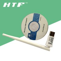 150M RT5370 Chipset Antena externa IEEE 802.11n / b / g wireless NANO wifi usb adaptador inalámbrico (blanco)