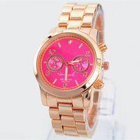 reloj de cuarzo noble al por mayor-2019 Ventas calientes Moda reloj de lujo Mujeres nuevo reloj TOP reloj de pulsera de acero sin satén Reloj de pulsera de cuarzo de alta calidad noble hembra mesa