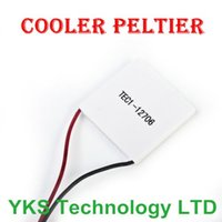 Wholesale Element Peltier - Wholesale-1Pc 40 * 40mm Thermoelectric Power Generator High Temperature Generation Element Peltier Module TEG High Temperature 150 degree