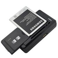 Wholesale Cell Phone Battery S3 - Universal Intelligent Cell Phone battery Charger For samsung GALAXY S5 S4 S3 NOTE HTC Xiaomi Nokia Sideslip 70mm US EU AU PLUG Q1