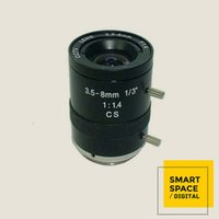 Manual de 3.5-8.0mm Varifocal Lens Camera Iris CCTV