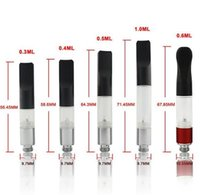 Wholesale Clearomizer Wax - BUD Touch O pen Atomizer CE3 Clearomizer vaporizer e cigarette vape mods e cig Oil Cartridge tank wax DHL FREE AT068