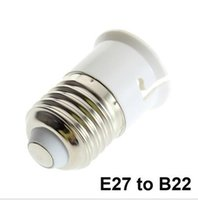 Wholesale E14 E12 Socket - White LED Bulb Socket Converter Socket Small Screw E27 to E12 E27 to E14 E14 to E27 E27 to B22 B22 to E26 Adapter Lamp Holder Converter