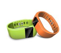 фитнес-флеш-браслет фитнес-трекер оптовых-TW64 Smartband смарт спорт браслет Браслет фитнес-трекер Bluetooth 4.0 Fitbit flex часы для ios android xiaomi mi группа 2015 новые