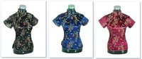 Wholesale Top Chinese Sale - Shanghai Story New Sale Chinese cheongsam top traditional Chinese Women's Silk Satin Top china dragon and phoenix blouse top Qipao Shirt