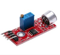 Wholesale Microphone Sound Sensor Module - KY-037 High Sensitivity Sound Microphone Sensor Detection Module for Arduino AVR PIC