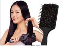 Wholesale 100pcs Hot Women Hairbrush Professional Heathy Paddle Cushion Hair Brush Quality Hair Loss Massage Comb