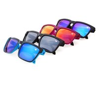 Wholesale Wholesale Cycling Usa - Summer promotion KEN BLOCK HELM Cycling Sports Sunglasses hot in Europe and USA men and women optic sun glasses free ship 12 colors