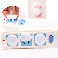 Wholesale Safety Sockets - Infants children anti-electric shock safety socket protective cover safety protection two-phase three-phase power socket outlet covers