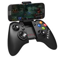 joystick do tablet pc venda por atacado-Sem fio Bluetooth Gaming Controller Joystick Nes clássico ipega PG 9021 PS4 para Android / iOS consolas de jogos Tablet PC TV BOX frete grátis