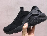Wholesale Size 37 - Only Women size EUR 36 37 Air Huarache Running Shoes For Women Huaraches Sneakers shoes Sport Ultra Boost Trainers shoes
