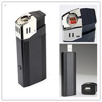 Wholesale Spy Camera Real Lighter - V18 1080P Hidden camera lighter camera with highlighted flashlight ,support TF card mini real lighter function dvr,lighter spy camera
