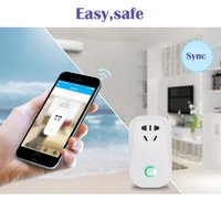 Wholesale switch outlet wifi resale online - Original Sonoff S20 Smart Wifi Socket Switch UK US EU Plug Remote Control Socket Outlet Timing Switch for Smart Home Automation DHL