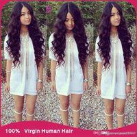 Wholesale Karida Hair Wholesale - 7A best quality brazilian body wave virgin hair 3pcs lot Rosa brazilian virgin hair body wave karida hair products no shedding 3,4,5pcs lot