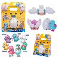 Wholesale Wholesale Little Gift - Little Live Pets Mini Eggs Surprise Chick Will walk Will call simulation Toys For Kids Christmas Birthday Gift 12pcs OOA3719