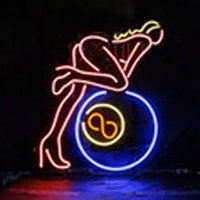"""Wholesale Sexy Neon Signs - HOT Eagle 17""""x14"""" Open Sexy Lady Real Glass Neon Light Signs Bar Pub Restaurant Billiards Shops Display Signboards"""