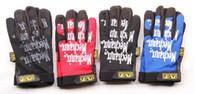 Wholesale Auto Race Gloves - NEW Lots Of 100 BRAND AUTO RACING MECHANICS OUTDOOR MECHANIX ORIGINAL MEN GLOVES SIZE S M L XL
