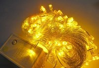 Wholesale Christmas Outdoor Lighting Sale - free shipping 2016 hot sale wedding light outdoor and indoor 10m 100leds chtistmas light led strings light led holiday light flash light