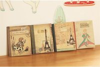 Wholesale Mini Cute Notebook - Free Shipping   New vintage style prince series notebook  memo pad , dandys