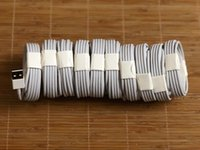 Wholesale Original Apple Cable - 100pcs lot 7 generations With retail package boxes For A++++ Original OEM Quality 1m 3ft USB Data Sync Charger Cable for ip 5 6 7 S6 S7