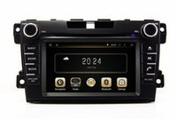 Wholesale Mazda Cx7 Gps - Android 5.1 In Dash Car DVD Player for Mazda CX7 CX-7 2009-2013 with GPS Navigation Radio Bluetooth AUX USB SD Audio Stereo
