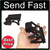 Wholesale Glock Tactical Laser - Send Fast Sporting Tactical Laser Flashlight Mount With Rail For Glock GIS G17 for Scope Pistol