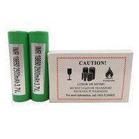 bateria recarregável de 3.6v venda por atacado-100% Genuine 25R 2500mah 20A 18650 Bateria INR Lithium Rechargeable Batteries Para Samsung Vaprozier Vape Box mods