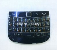 Wholesale New Blackberry Bold - Wholesale-New High Quality Mobile Phone Key Keyboard Keypad with Flex Cable Trackpad For For Blackberry Bold 9900 Black Free shipping